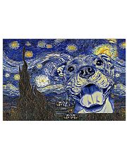 Pit Bull Starry Night 17x11 Poster front