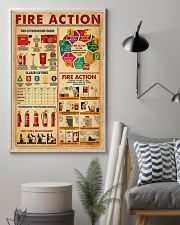 Fire Action 11x17 Poster lifestyle-poster-1