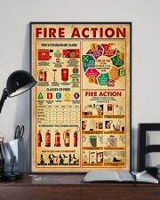 Fire Action 11x17 Poster lifestyle-poster-2