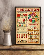 Fire Action 11x17 Poster lifestyle-poster-3
