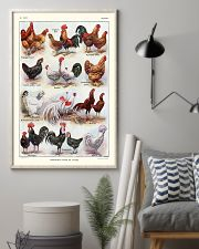 Different Breeds of Roosters 11x17 Poster lifestyle-poster-1