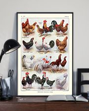 Different Breeds of Roosters 11x17 Poster lifestyle-poster-2