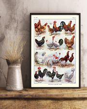 Different Breeds of Roosters 11x17 Poster lifestyle-poster-3