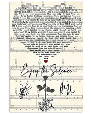 Enjoy The Silence 11x17 Poster front