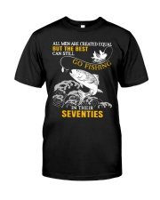 Go Fishing In Their Seventies Classic T-Shirt front