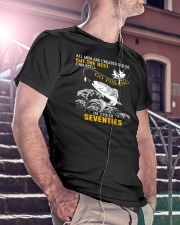 Go Fishing In Their Seventies Classic T-Shirt lifestyle-mens-crewneck-front-5
