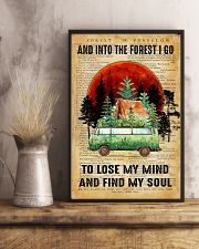 Love Camping And Into The Forest I Go 11x17 Poster lifestyle-poster-3