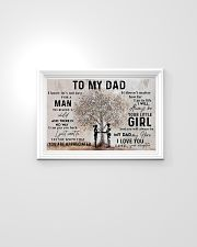 To My Dad 24x16 Poster poster-landscape-24x16-lifestyle-02
