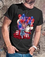 Love British Shorthair Classic T-Shirt lifestyle-mens-crewneck-front-4