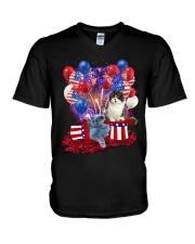 Love British Shorthair V-Neck T-Shirt thumbnail
