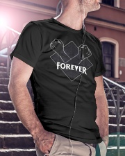 Dad Forever Classic T-Shirt lifestyle-mens-crewneck-front-5