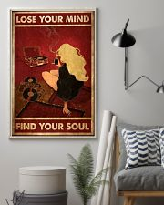 Never Underestimate An Old Man With An Excavator 11x17 Poster lifestyle-poster-1