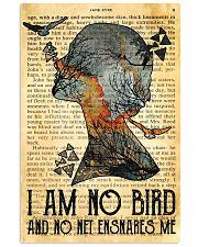 I Am No Bird Ane Eyre Charlotte Bronte 11x17 Poster front