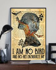 I Am No Bird Ane Eyre Charlotte Bronte 11x17 Poster lifestyle-poster-2
