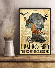I Am No Bird Ane Eyre Charlotte Bronte 11x17 Poster lifestyle-poster-3