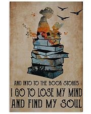 Into The Bookstore 11x17 Poster front