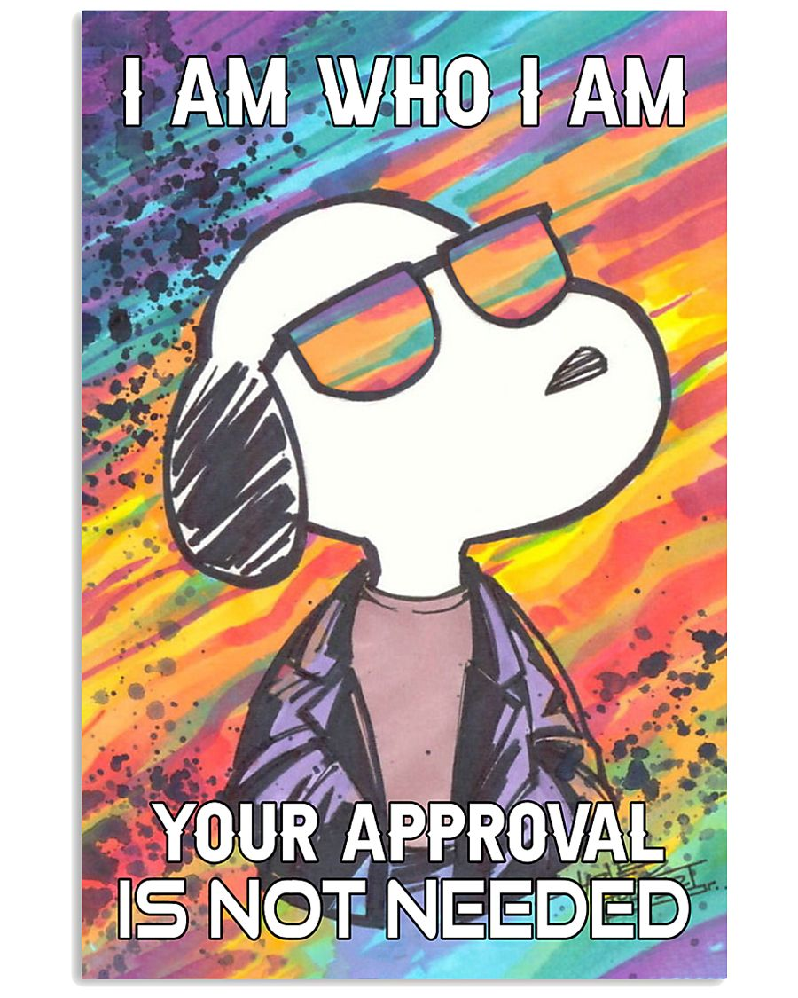 I Am Who I Am 11x17 Poster