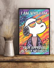 I Am Who I Am 11x17 Poster lifestyle-poster-3