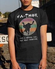 Fathor Like a Normal Dad Classic T-Shirt apparel-classic-tshirt-lifestyle-29