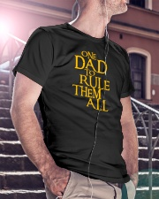 One Dad To Rule Them All Classic T-Shirt lifestyle-mens-crewneck-front-5