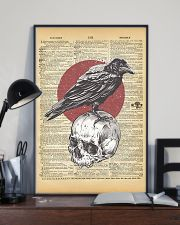 Raven And Skull 11x17 Poster lifestyle-poster-2