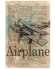 Dictionary Page Definition Airplane 11x17 Poster front