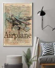 Dictionary Page Definition Airplane 11x17 Poster lifestyle-poster-1