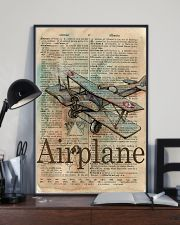 Dictionary Page Definition Airplane 11x17 Poster lifestyle-poster-2