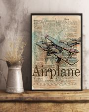 Dictionary Page Definition Airplane 11x17 Poster lifestyle-poster-3