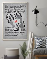 I Love To Wear My Daddy's Shoes 11x17 Poster lifestyle-poster-1