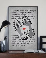 I Love To Wear My Daddy's Shoes 11x17 Poster lifestyle-poster-2