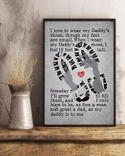 I Love To Wear My Daddy's Shoes 11x17 Poster lifestyle-poster-3