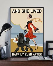 Love Dog And She Lived Happily Ever After 11x17 Poster lifestyle-poster-2