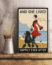Love Dog And She Lived Happily Ever After 11x17 Poster lifestyle-poster-3