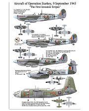 Operation Starkey 1943 11x17 Poster front