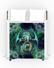 Beautiful Dragon Art Duvet Cover - Queen aos-duvet-covers-88x88-lifestyle-front-01