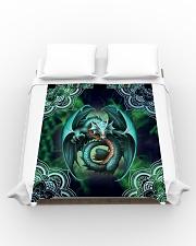 Beautiful Dragon Art Duvet Cover - Queen aos-duvet-covers-88x88-lifestyle-front-02
