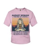 Yoga August Women Youth T-Shirt thumbnail