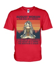 Yoga August Women V-Neck T-Shirt thumbnail