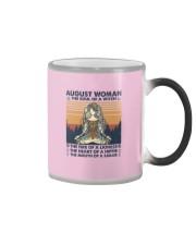 Yoga August Women Color Changing Mug thumbnail