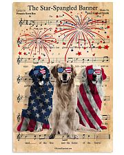 Golden Retriever The Star Spangled 4th of July 11x17 Poster front