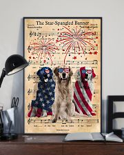 Golden Retriever The Star Spangled 4th of July 11x17 Poster lifestyle-poster-2