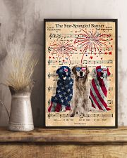 Golden Retriever The Star Spangled 4th of July 11x17 Poster lifestyle-poster-3