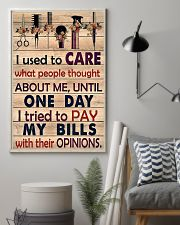 Hairdresser I Used To Care What People Thought 11x17 Poster lifestyle-poster-1