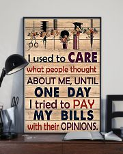 Hairdresser I Used To Care What People Thought 11x17 Poster lifestyle-poster-2