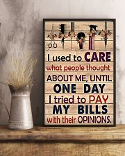 Hairdresser I Used To Care What People Thought 11x17 Poster lifestyle-poster-3