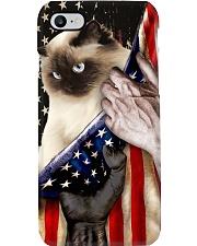 Love Ragdoll Cat United State Flag Phone Case i-phone-8-case