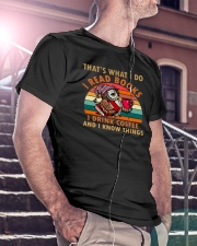 That's What I Do I Read Books I Drink Coffee Classic T-Shirt lifestyle-mens-crewneck-front-5