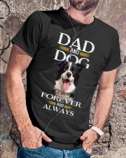 Dad And Dog Forever And Always Classic T-Shirt lifestyle-mens-crewneck-front-4