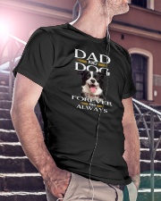 Dad And Dog Forever And Always Classic T-Shirt lifestyle-mens-crewneck-front-5